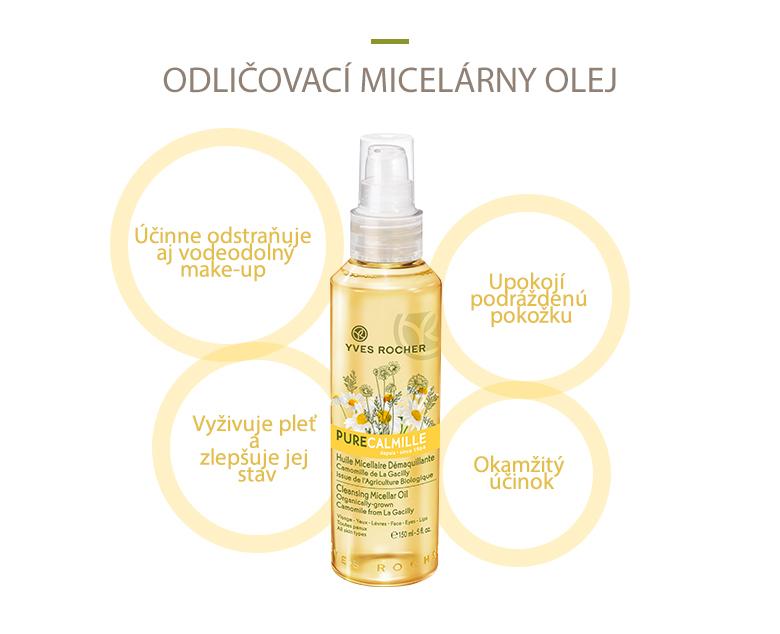 Micelární olej Pure Calmille